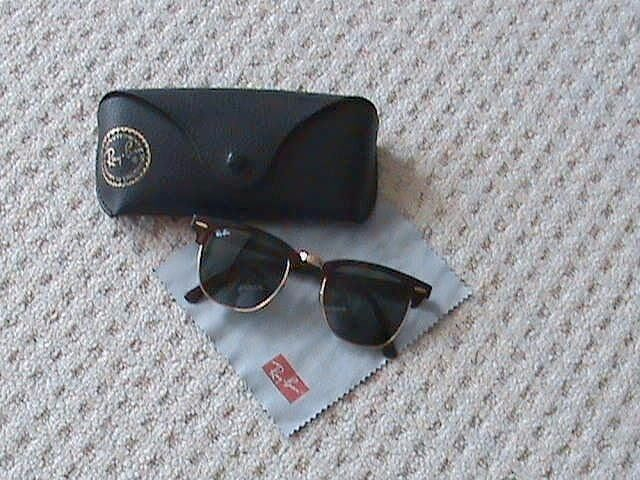 d4b55aad00f8ea Ray Ban clubmaster sunglasses ( Reference No. RB3016 W0366 ) £55 ...