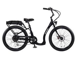 Pedego Boomerang Plus Black Electric Bicycle Bike, 48V10AH 500w