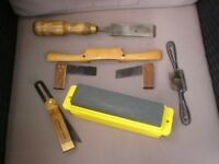 VARIOUS WOODWORKING HAND TOOLS