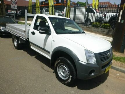 2008 Holden Rodeo RA MY08 LX 4x2 White 5 Speed Manual Cab Chassis Merrylands Parramatta Area Preview