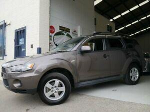 2011 Mitsubishi Outlander ZH MY11 LS Grey Constant Variable Wagon Rydalmere Parramatta Area Preview