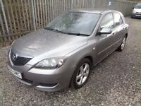 MAZDA 3 1.6 PETROL 2006 TS2 5 DOOR HATCHBACK GREY 95,000 M.O.T 11/04/18 EXCELLENT CONDITION