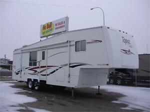 **$145/mo (oac)** WINTER 5th WHEEL, 2 SLIDES, SLEEPS 4, LOADED! Edmonton Edmonton Area image 1