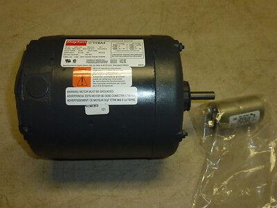 New Dayton Hatchersetter Motor 12hp 1ph 1725 Rpm 115230v Fr 56z 1yba3