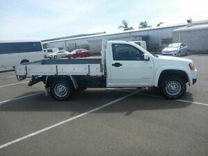 2009 Holden Colorado RC MY09 LX White 4 Speed Automatic Cab Chassis Vincent Townsville City Preview