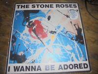 The stone roses - I wana be adored 45 vinyl record