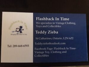 Vintage Clothing, Toys and Collectibles