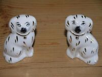 Porcelain Staffordshire Dogs