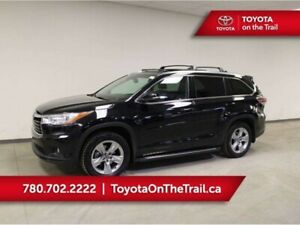 2016 Toyota Highlander LIMITED; AWD, WINTER TIRES, PANORAMIC SUN