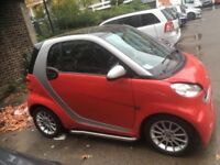 Clean Smart Car. Economical. No congestion charge and free parking.