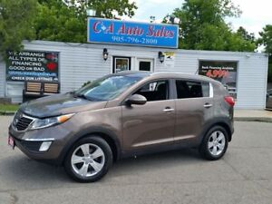 2011 Kia Sportage EX FINANCE FOR 126 BI WEEKLY OAC ON 72MONTHS