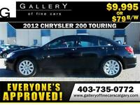 2012 Chrysler 200 Touring $79 bi-weekly APPLY NOW DRIVE NOW