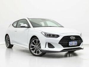 2019 Hyundai Veloster JS MY20 Chalk White 6 Speed Automatic Coupe Jandakot Cockburn Area Preview