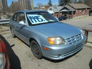 2003 Hyundai Accent GS - THAT'S RIGHT - ONLY $995.00 !