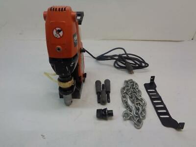 1 Used Jancy Magnetic Drill Press Kit Drill D 2 916 Jhm Usa101x 12v 60hz F2