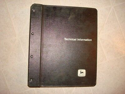John Deere Backhoes Rotobooms Shop Service Repair Manual Am22