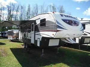 2016 Puma 259RBSS 5th Wheel Trailer with Double sized Bunkbeds
