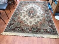 A traditional style Wilton rug