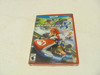 Mario Kart 8 Nintendo Wii U BRAND NEW FACTORY SEALED