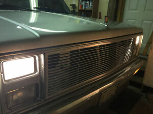 four sealed beam headlights