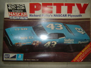 Richard Petty NASCAR MPC model kit (Sealed)