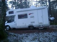 Rollerteam 500 Campervan, low mileage, satelite system and digital TV included