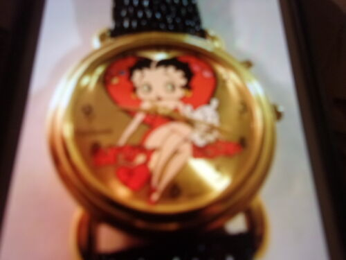 BETTY BOOP WATCH - BLACK BAND
