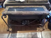 Glass Counter Top Display Table for SALE!