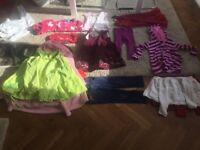 Bundle of 21 items of designer, girls clothes aged 2-3 £40