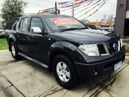 2007 Nissan Navara D40 ST-X (4x2) 5 Speed Automatic Brooklyn Brimbank Area Preview