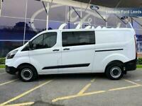 2018 Ford Transit Custom 2.0 Tdci 105Ps Low Roof D/Cab Van Crew Bus Diesel Manua
