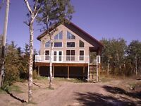 Beautiful Year round cabin for rent, Buffalo Lake, WhiteSands,AB
