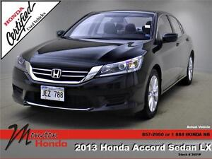2013 Honda Accord LX (CVT)