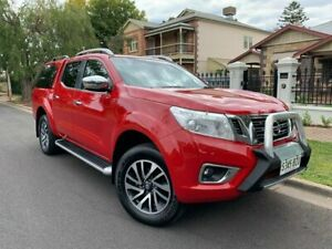 2017 Nissan Navara D23 S2 ST-X Red/Black 6 Speed Manual Utility Prospect Prospect Area Preview