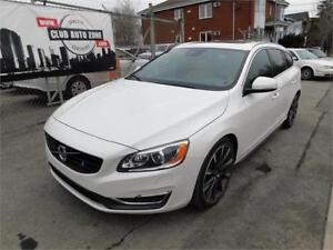 VOLVO V60 T6 PREMIER AWD 2015 (AUTOMATIQUE BLUETOOTH)