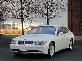BMW 735i AUTOMATIC * ULTRA HIGH SPEC * LOW MILES * IDEAL WEDDING CAR