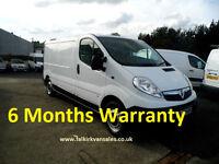 Vauxhall Vivaro 2.0 CDTi 2900 Panel Van 4dr DL63 NZM