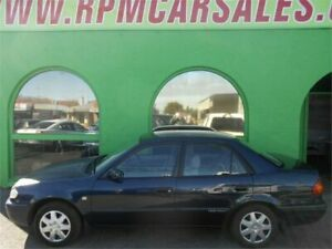 2000 Toyota Corolla AE112R Conquest Blue 4 Speed Automatic Sedan Nailsworth Prospect Area Preview