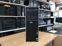 HP Z400 Workstation Xeon Quad Core W3520 2.67GHz 8GB RAM 500GB Win 7 PC