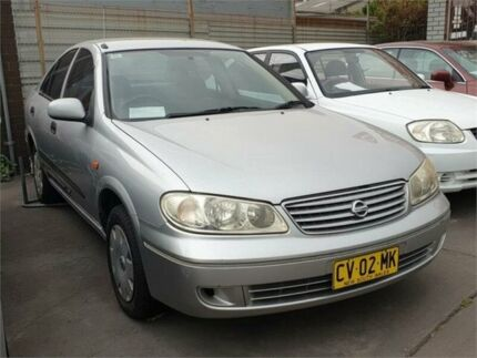 2004 Nissan Pulsar N16 MY04 ST ** Low 157,000 Kms * 4 Speed Automatic Sedan Granville Parramatta Area Preview