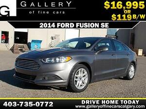 2014 Ford Fusion SE $119 bi-weekly APPLY TODAY DRIVE TODAY