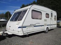 2004 Sterling Europa 500 5 berth caravan, excellent condition, 2 owners, full history