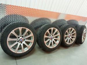 Pneus Hiver RUNFLAT QUASI NEUF +Mags! BMW X1 328i 335i 428i 435i