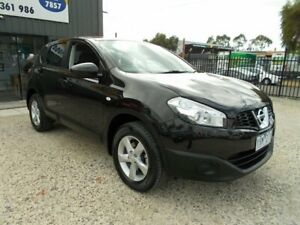 2011 Nissan Dualis J10 Series II MY2010 ST Hatch X-tronic Black 6 Speed Constant Variable Hatchback Bayswater North Maroondah Area Preview