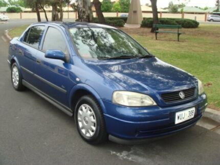 2002 Holden Astra TS City Blue 4 Speed Automatic Sedan Broadview Port Adelaide Area Preview