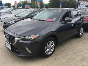 2017 Mazda CX-3 GS Leather Sunroof skyactive grey like new