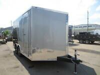 8.5 X 14 STEALTH TITAN, RAMP DOOR, EXTRA HEIGHT, ELECTRIC BRAKES