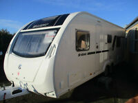 Swift S Line quattro end washroom 2014 my Kimberley Ltd Edition touring caravan