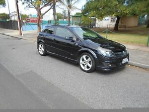 2007 Holden Astra AH MY07 SRi Black 6 Speed Manual Coupe Somerton Park Holdfast Bay Preview