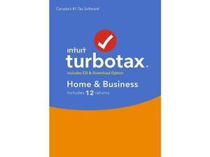 TurboTax Home & Business 2017 Bilingual, Windows BNIB